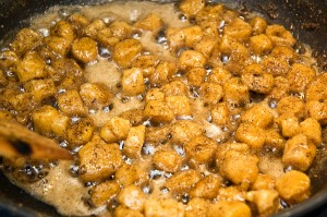 gnocchi in brown butter