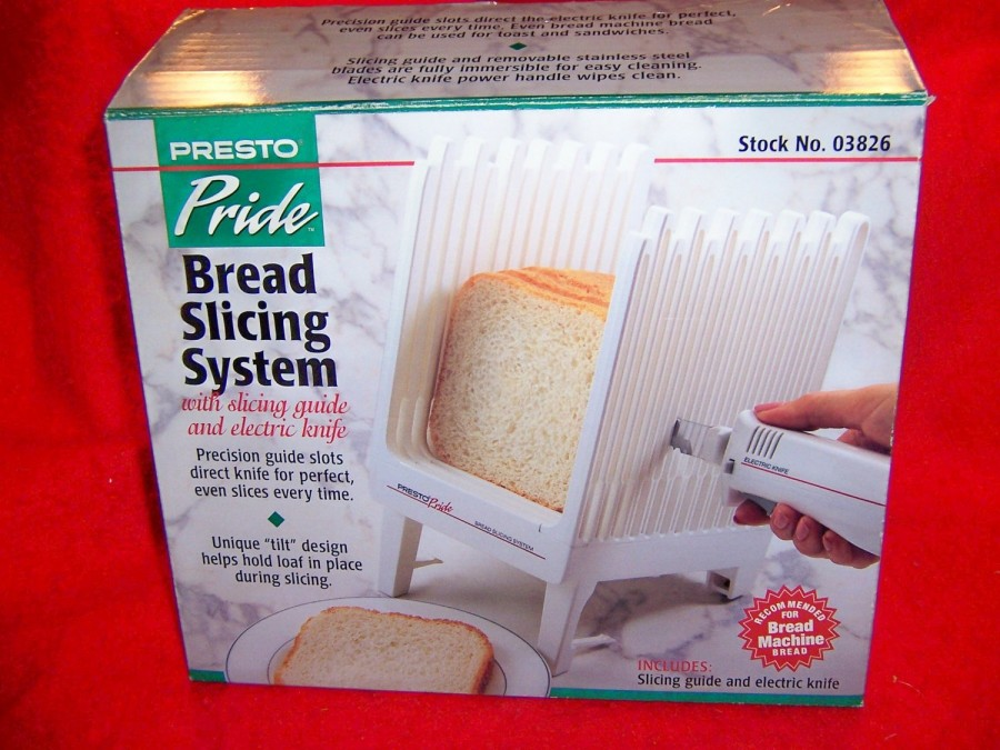 Presto Pride Bread Slicing System